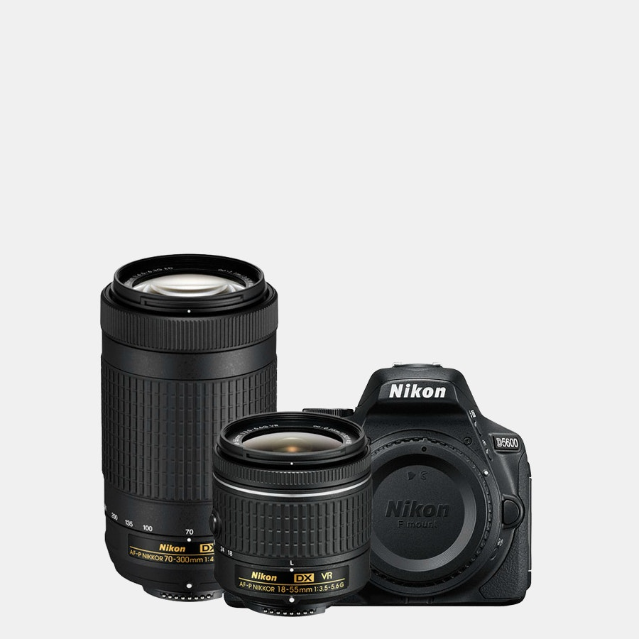 Nikon D5600 w/ 18-55mm and 70-300mm (Refurbished)