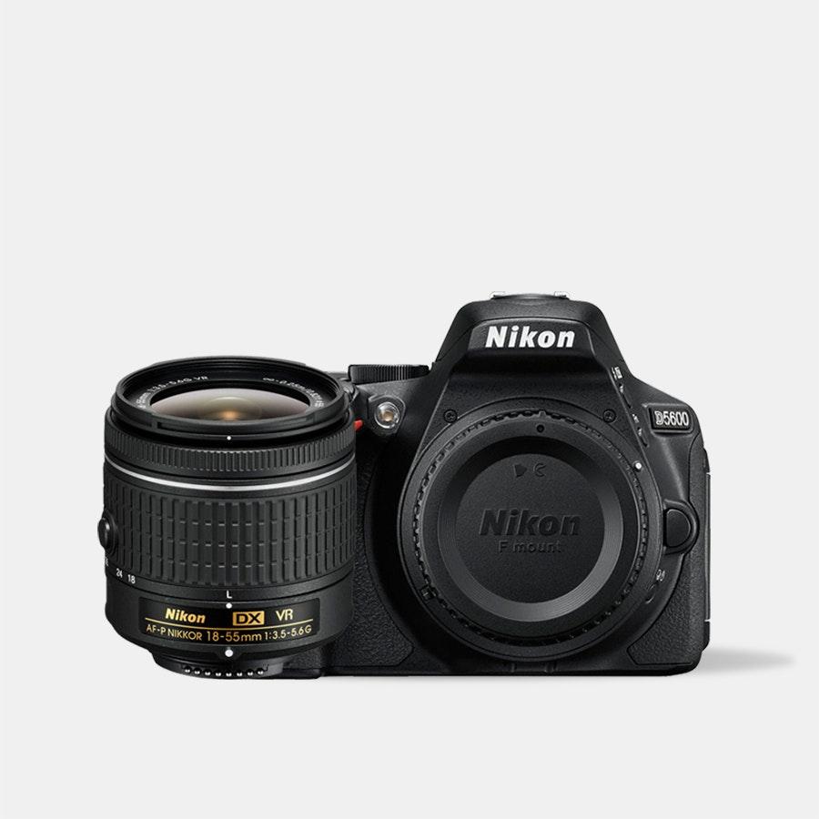 Nikon D5600 w/ 18–55mm VR AF-P Lens