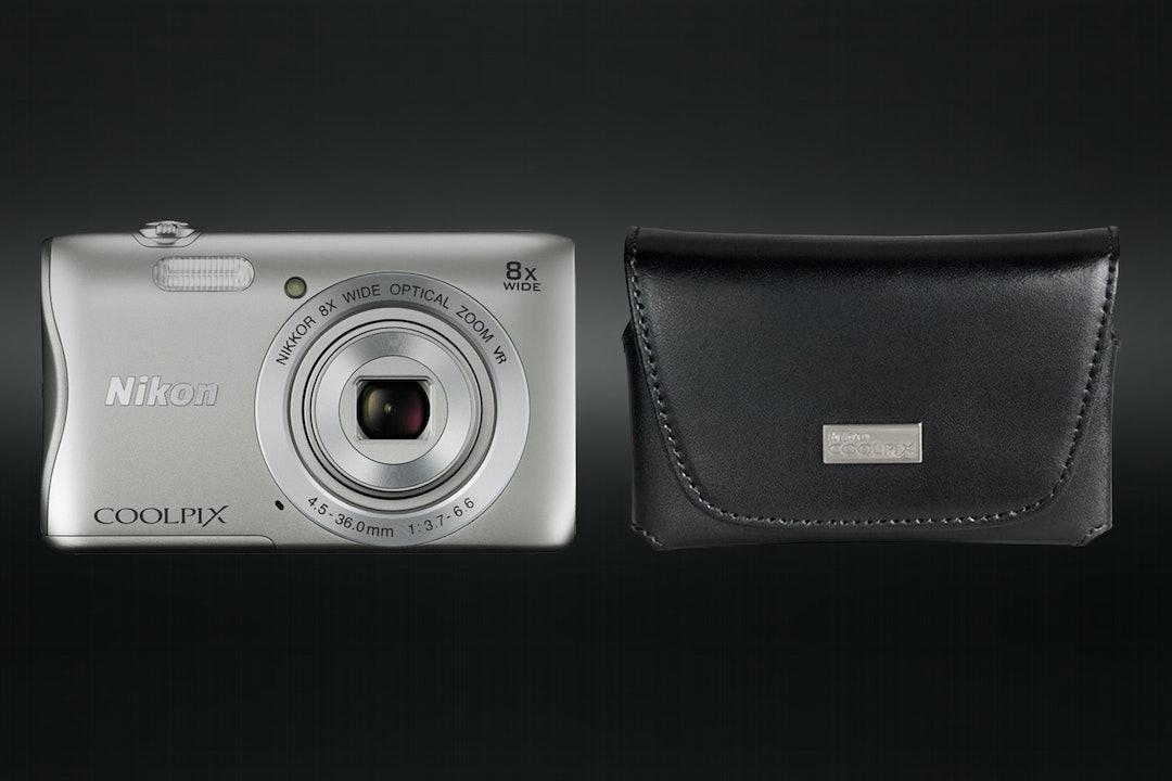 Nikon Refurbished COOLPIX S3700 + Case