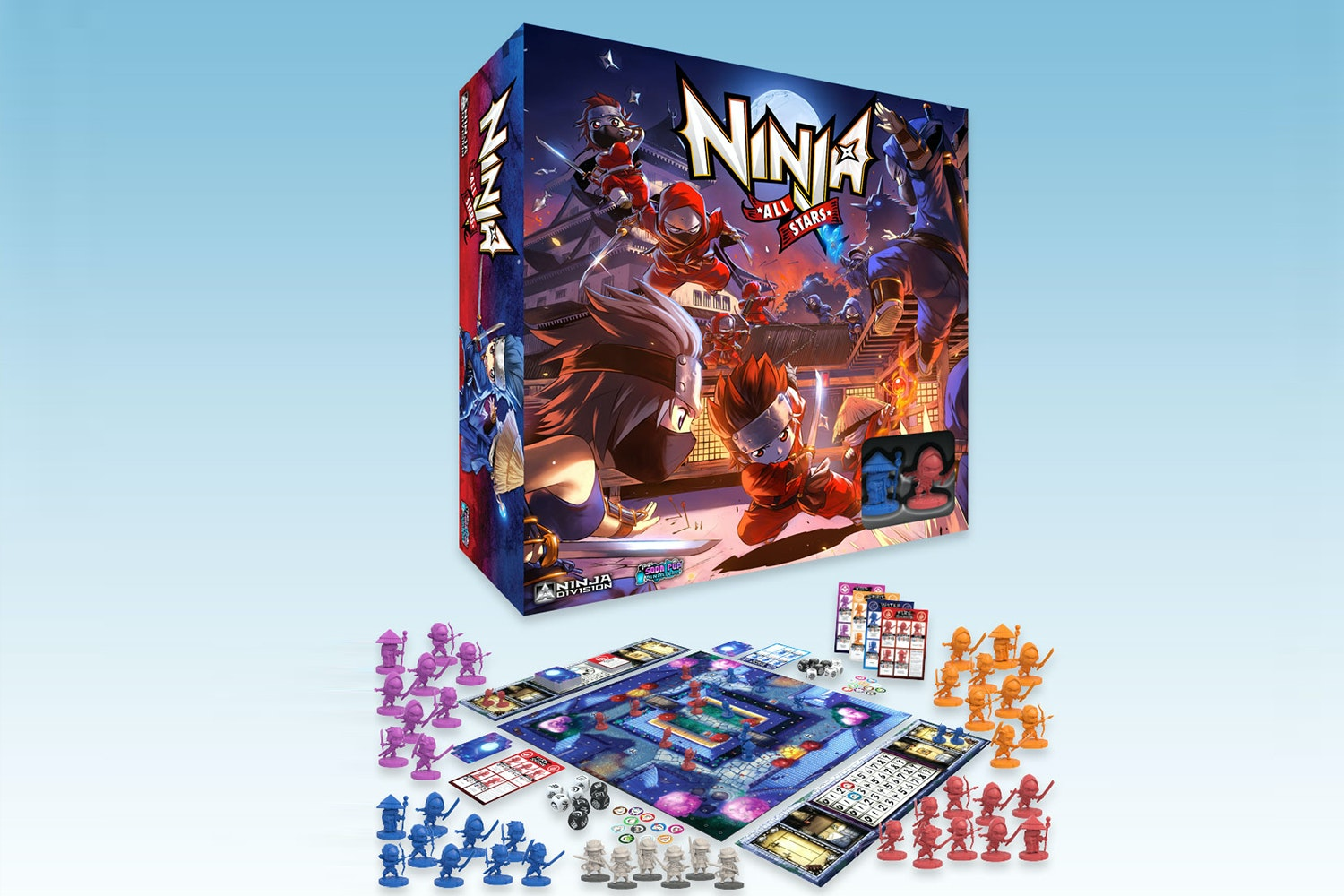 Ninja All-Stars Board Game