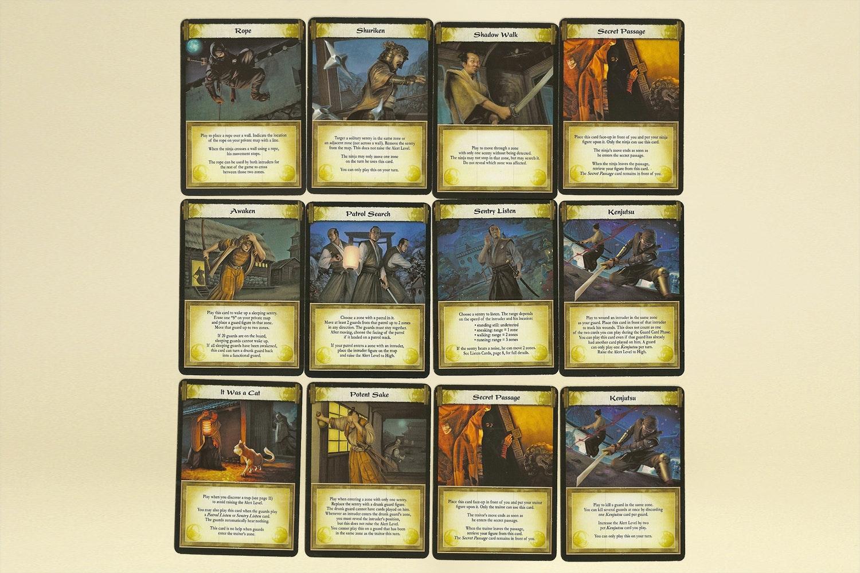 Ninja: Legend of the Scorpion Clan Board Game