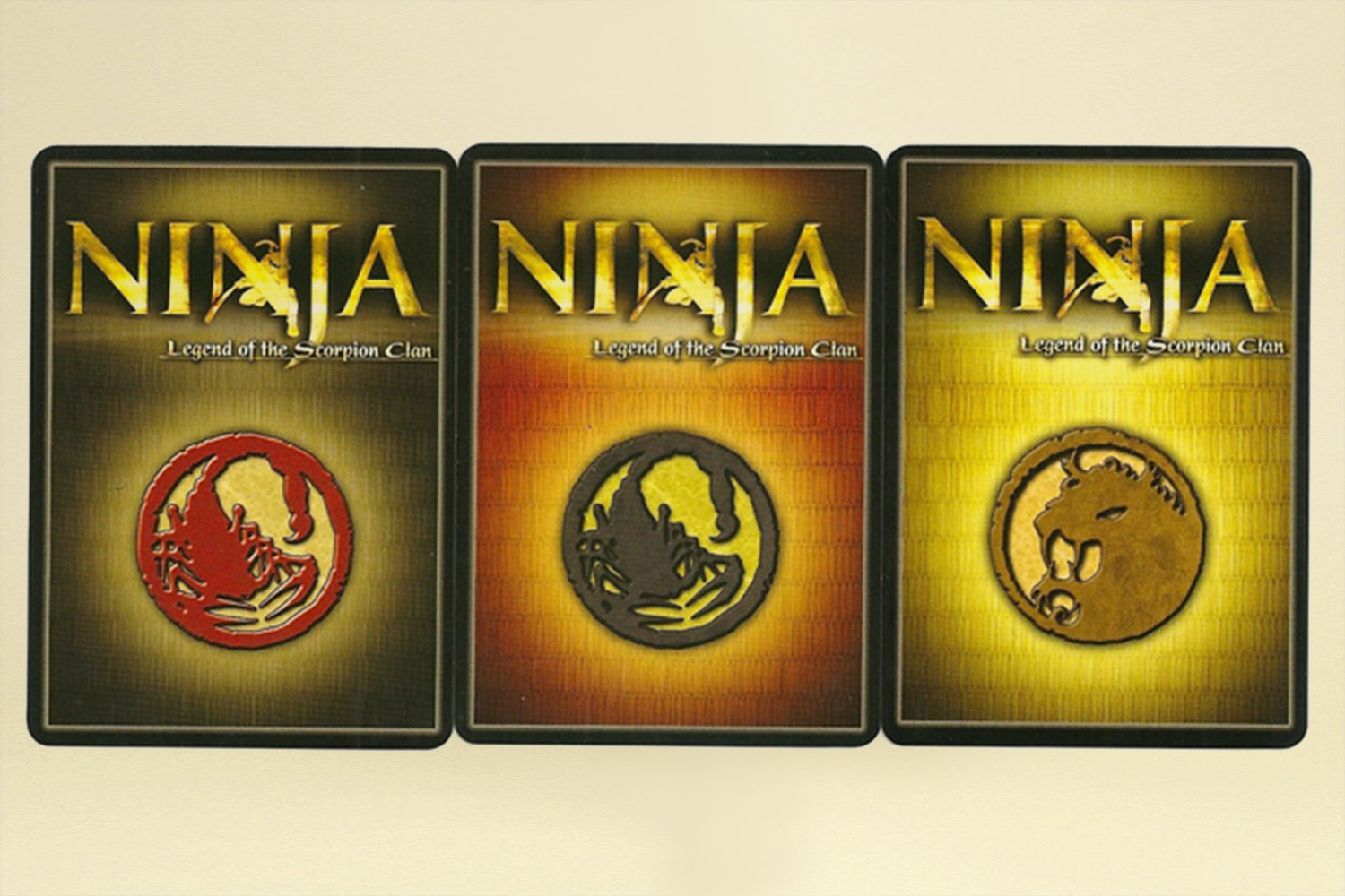 Ninja: Legend of the Scorpion Clan Board Game