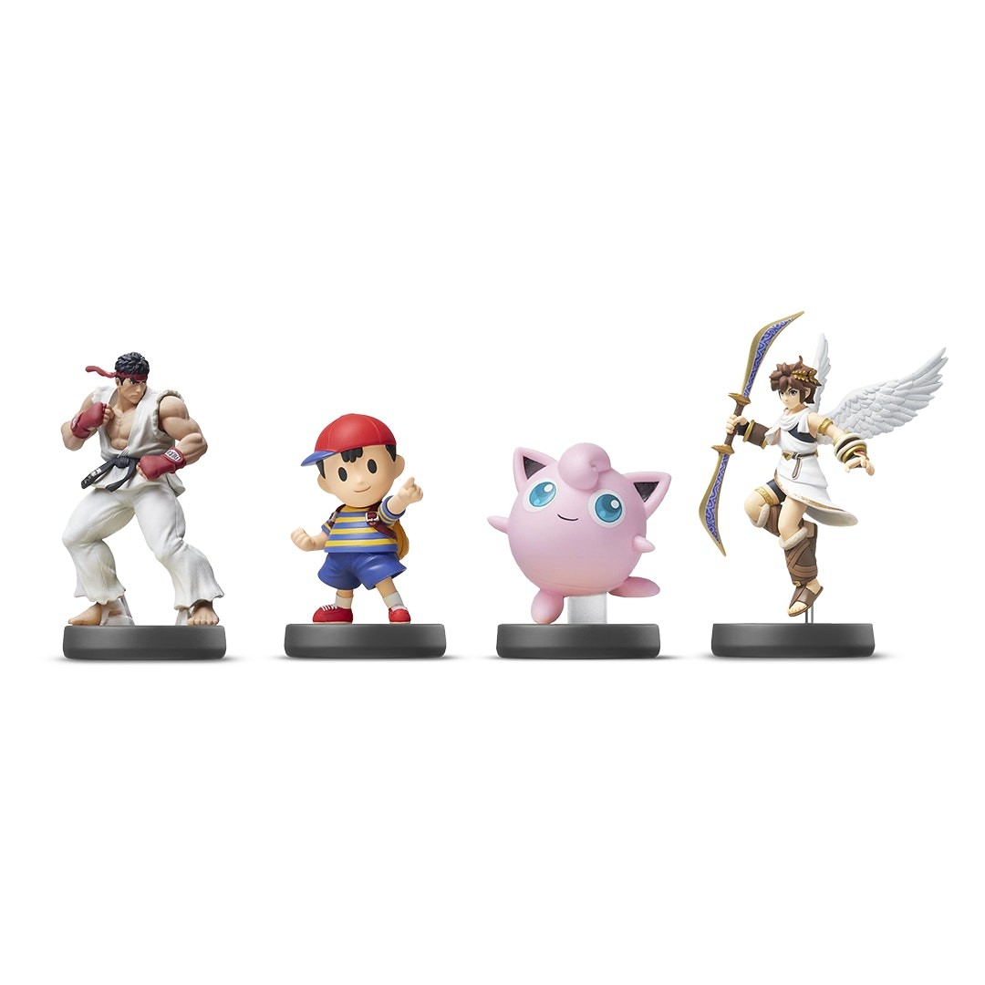 Nintendo Super Smash Bros Euro Amiibo Bundle