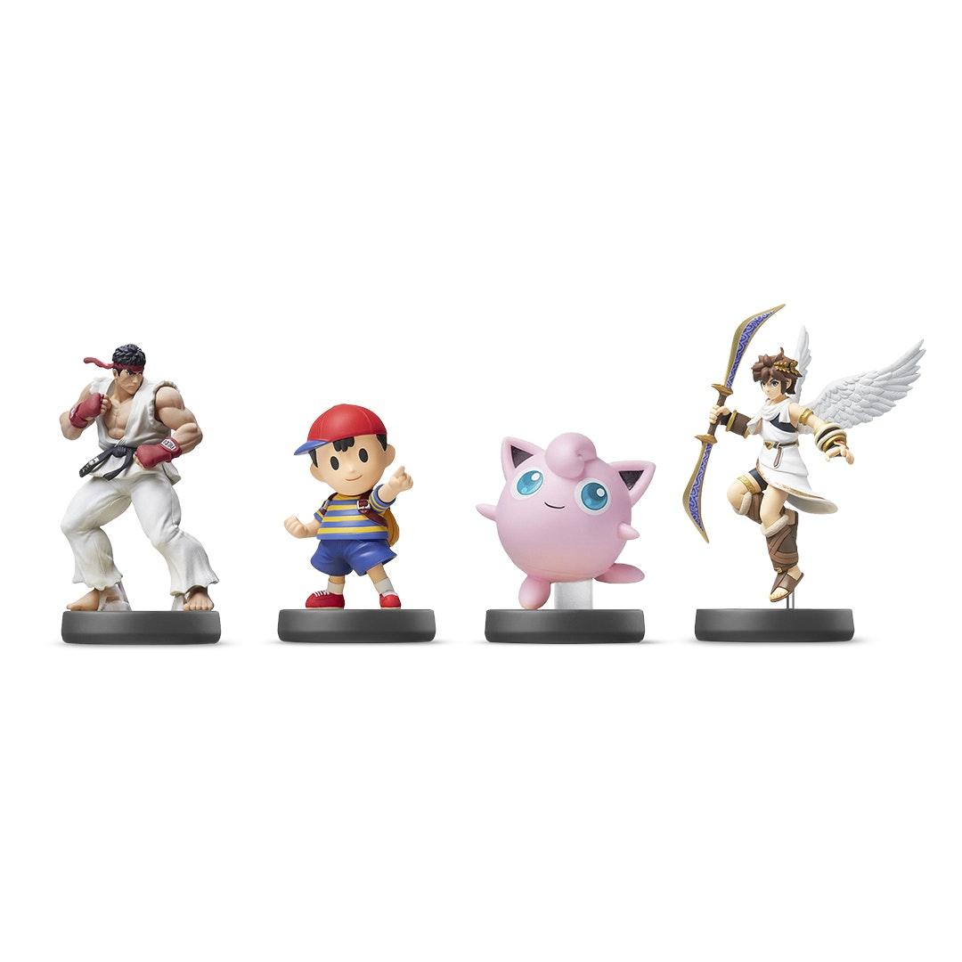 Nintendo Super Smash Bros Euro Amiibo Bundle