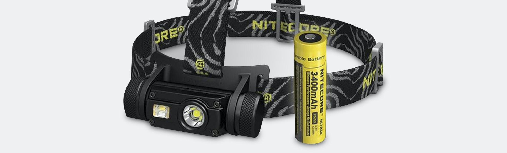 Nitecore HC65 1,000-Lumen Rechargeable Headlamp