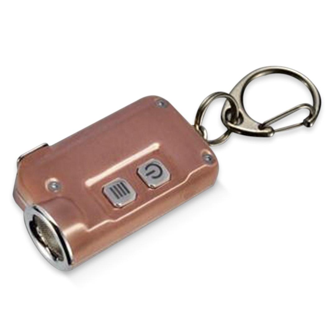 Nitecore TINI USB-Rechargeable Copper Flashlight