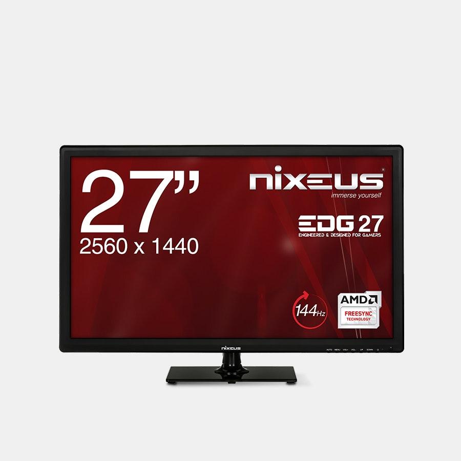 Nixeus EDG 27-Inch IPS WQHD FreeSync 144Hz Monitor