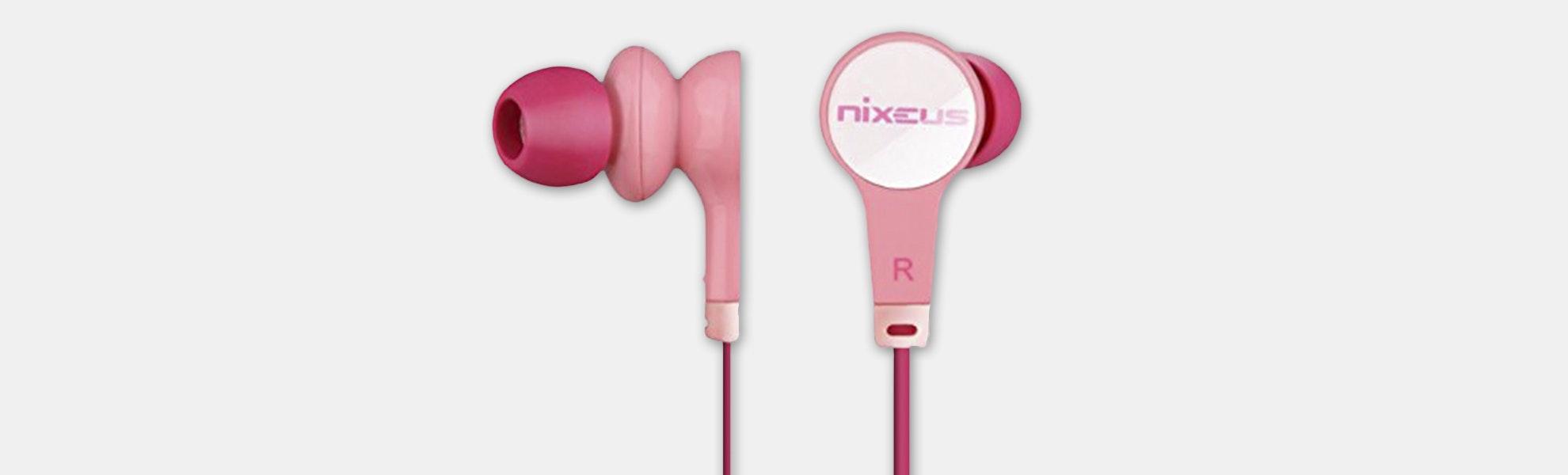 Nixeus ER-PINK14 Earphones