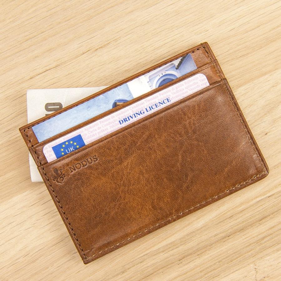 Nodus Compact 4-Card RFID-blocking Wallet