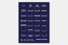 General Motors - Blue