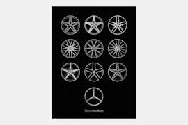 Mercedes-Benz Wheels - Black
