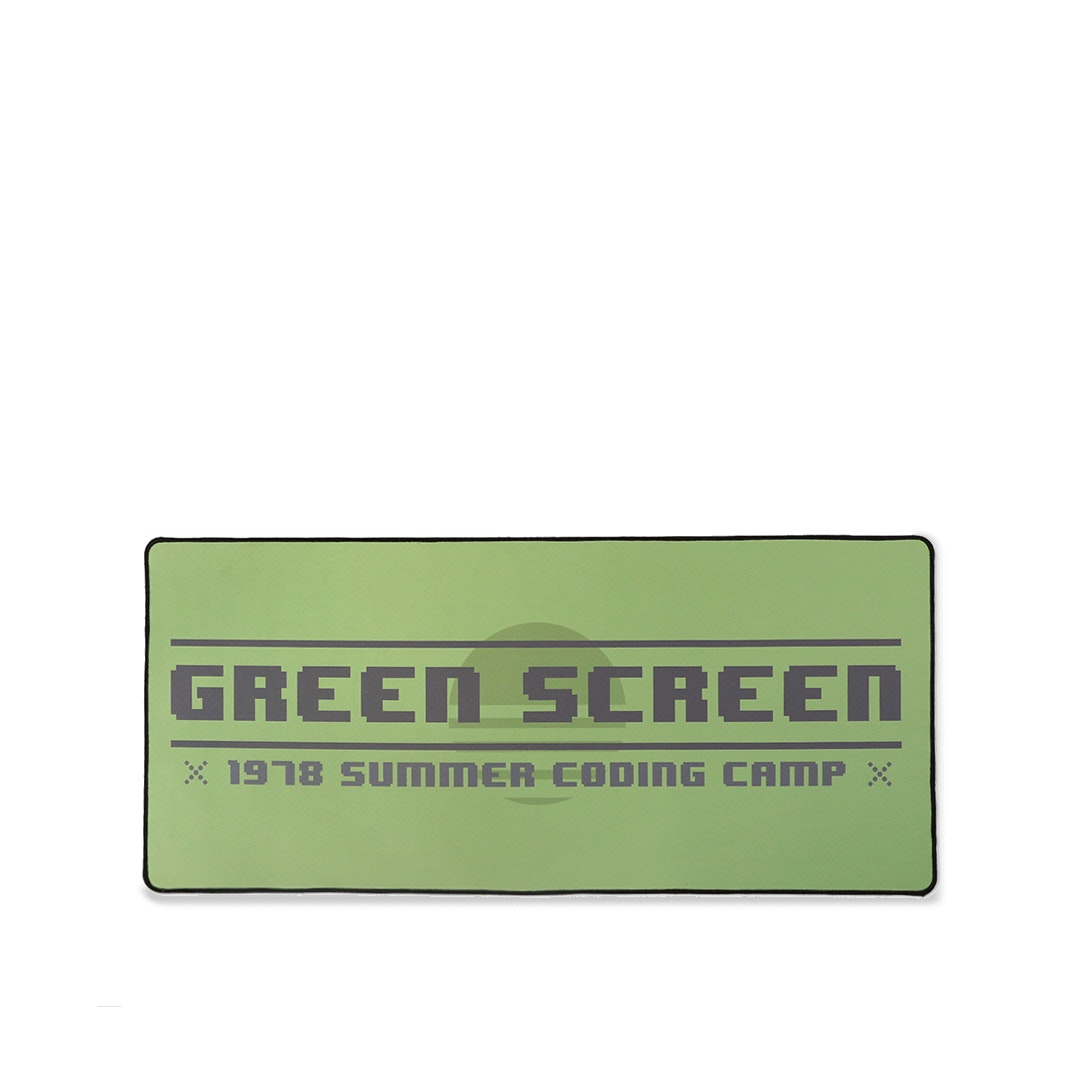 NovelKeys: MiTo Green Screen Desk/Mouse Mat