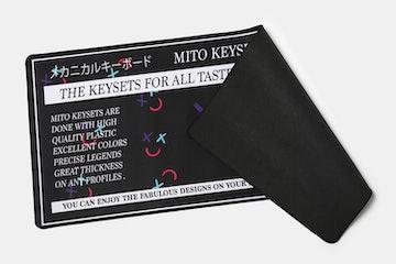 NovelKeys: MiTo Mitowave Desk/Mouse Mat