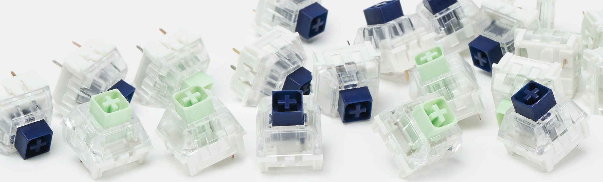NovelKeys x Kailh BOX Thick Clicks Switches
