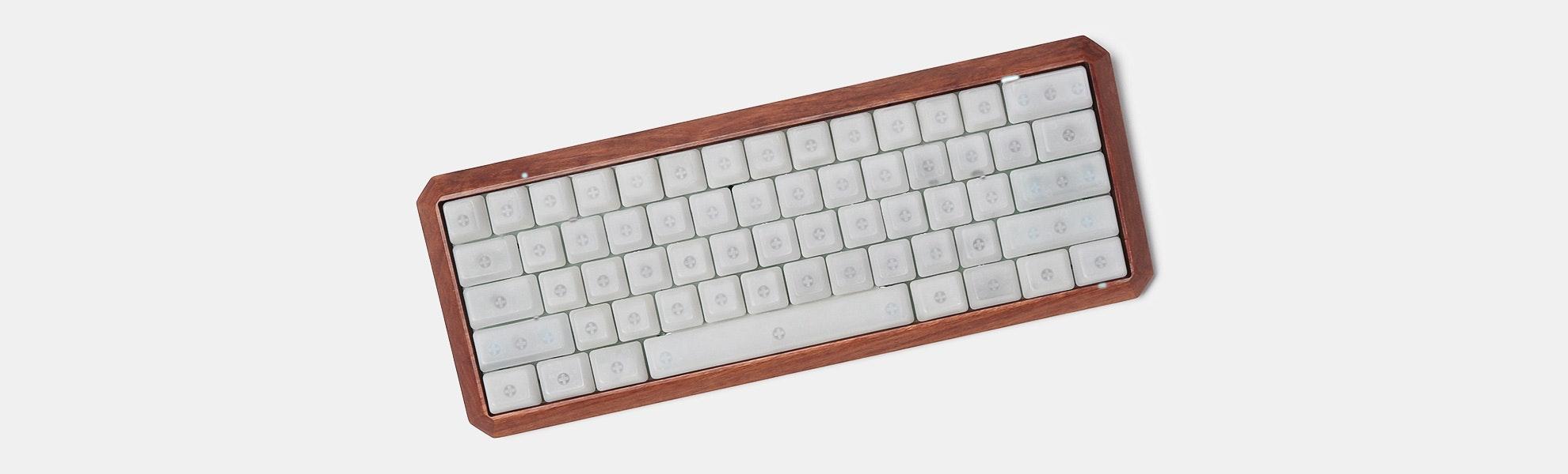 NPKC: KBDFans 5° Wood 60% Keyboard Case