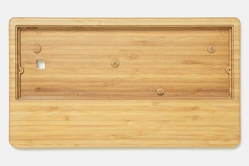 NPKC 60% Wooden Wrist Rest Keyboard Case