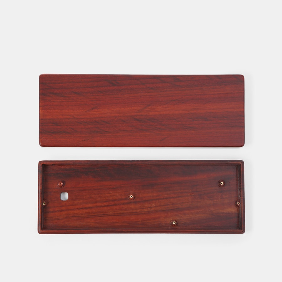 NPKC 60% Wooden Keyboard Case