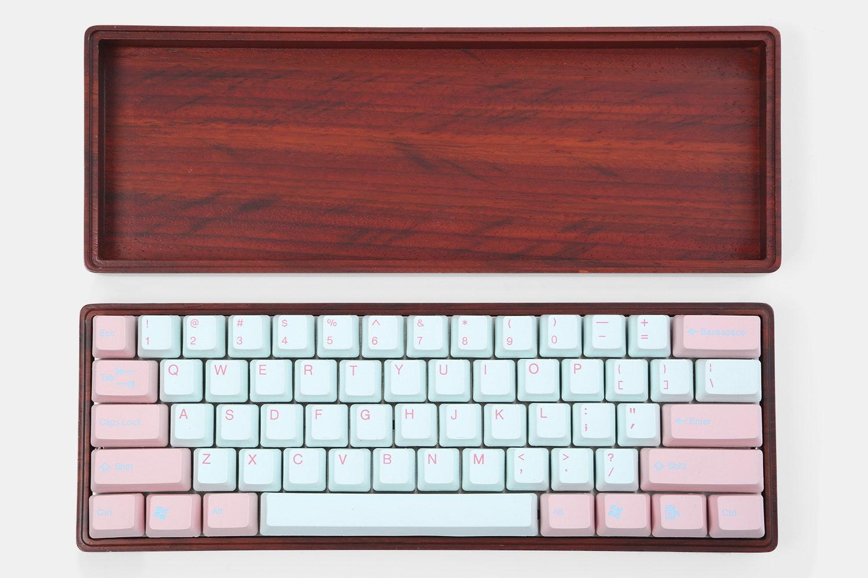 NPKC 60% Wooden Keyboard Case