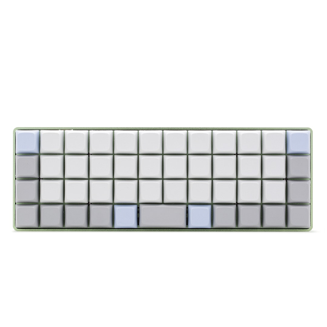 NPKC Blank PBT Keycaps for Ortholinear Keyboards