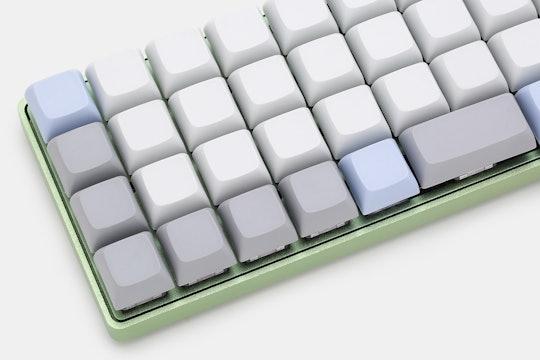 NPKC Blank PBT Keycaps for Ortholinear Keyboards