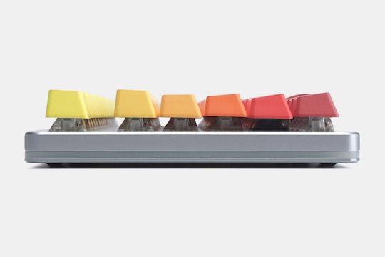 IDOBAO Gradient Shine-Through PBT Sidelit Keycap Set