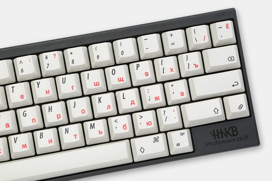 NPKC Electro-Capacitive Dye-Subbed Keycap Set