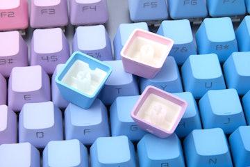 NPKC Gradient PBT Doubleshot Side-Lit Keycap Set