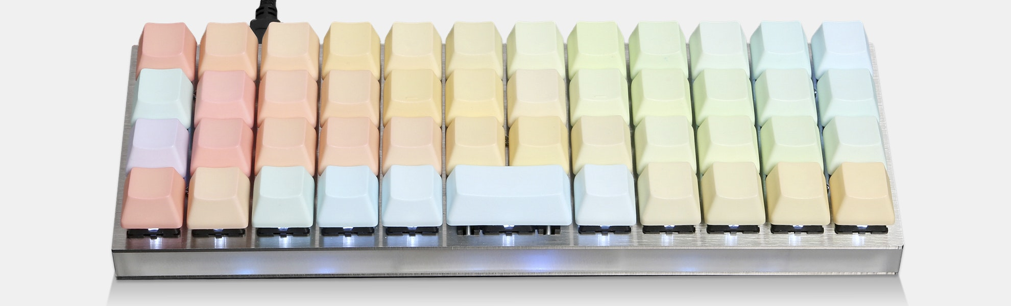 NPKC PBT Rainbow Keycaps