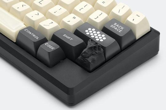 NZCaps Aries & Rex Graphite Artisan Keycaps