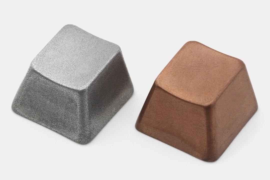 NZCaps Copper / Aluminum Artisan Keycap