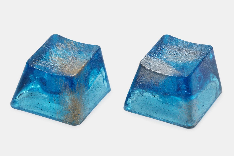 NZCaps Frosty Blue Artisan Keycap