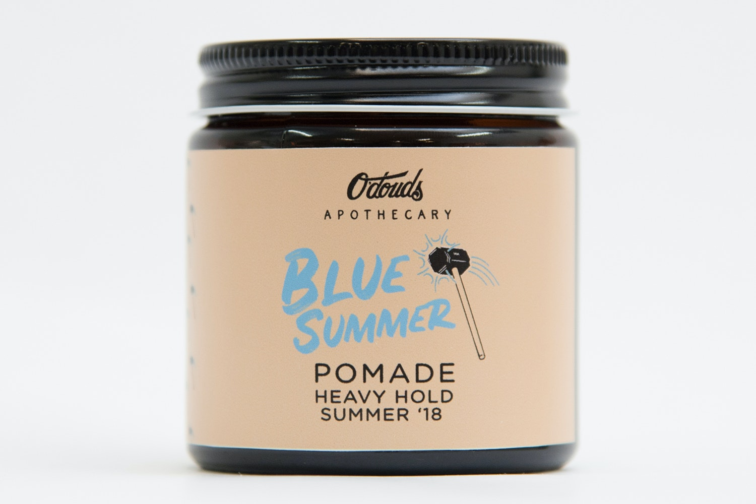 Blue Summer heavy-hold pomade