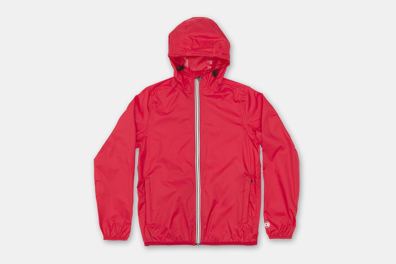 Men Full Zip - Red