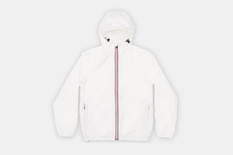 Men Full Zip - White