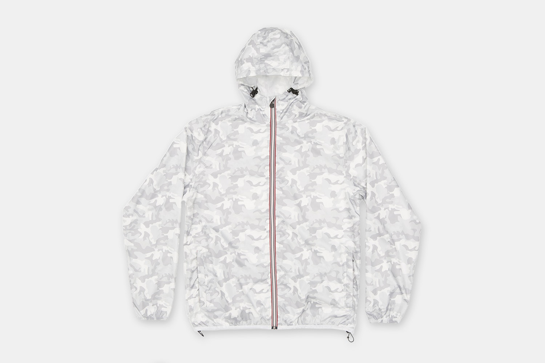 Men Print Full Zip - White Camo (+ $5)