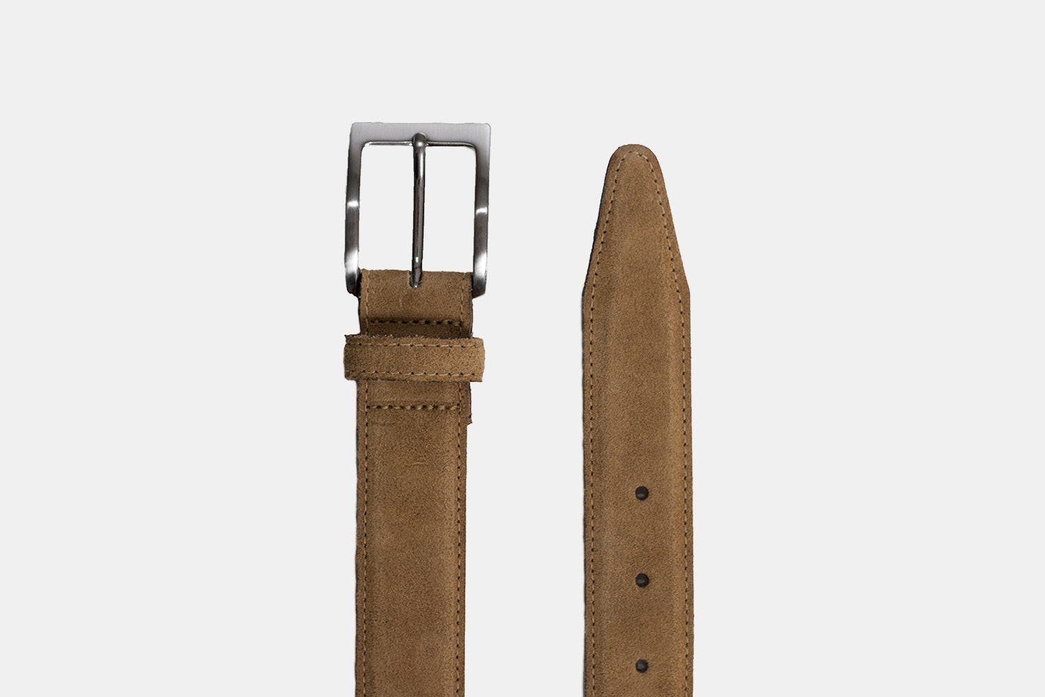 Oak Street Bootmakers Horween Suede Belt