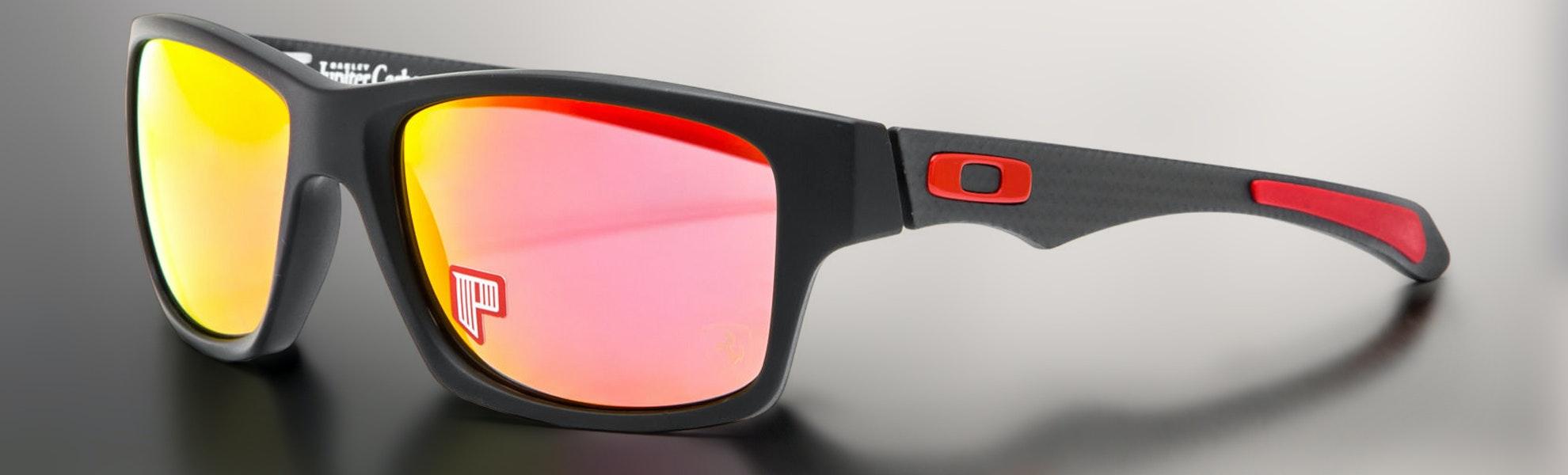 oakley sunglasses lowest price  Oakley Jupiter Carbon Polarized Ferrari Sunglasses - Lowest Price ...