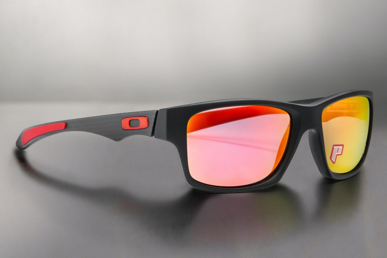 Oakley Jupiter Carbon Polarized Ferrari Sunglasses