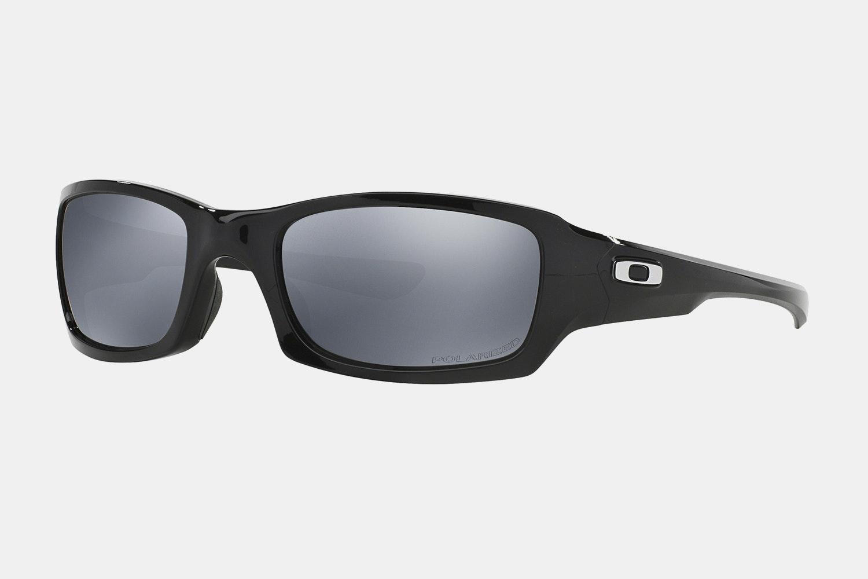 Polished Black – Black iridium polarized lenses (+ $10)