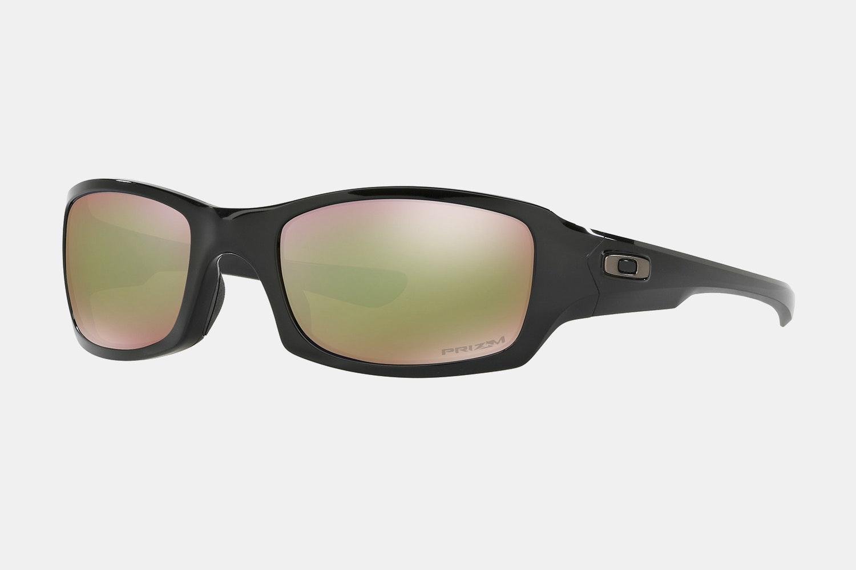 Polished Black – Prizm bronze lenses (+ $20)