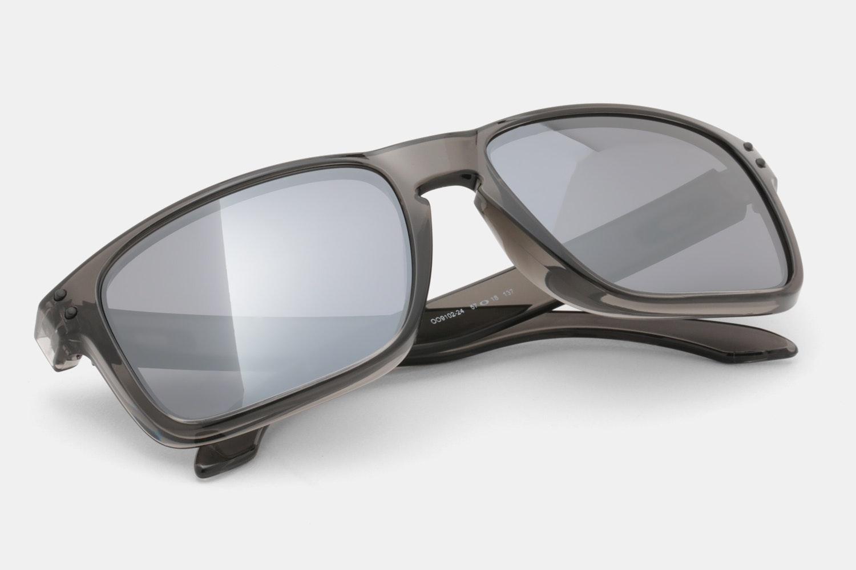 Gray Smoke - Black Iridium Non-Polarized