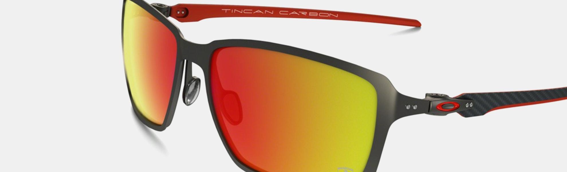 Oakley Ferrari Carbon Iridium Sunglasses