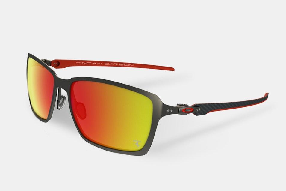 oakley ferrari carbon iridium sunglasses | price & reviews | massdrop