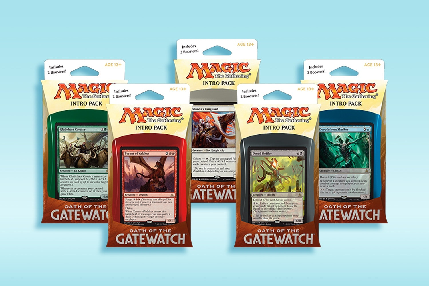 Oath of the Gatewatch Intro Pack (5-Pack)