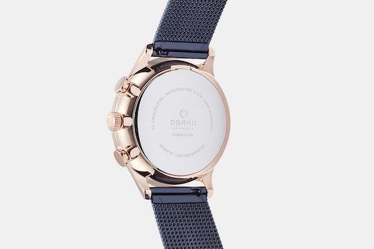 Obaku Denmark Gran Quartz Watch