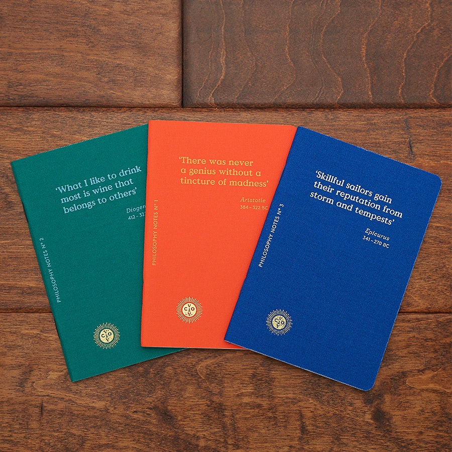 Octaevo Passport Notes Collection (3-Pack)