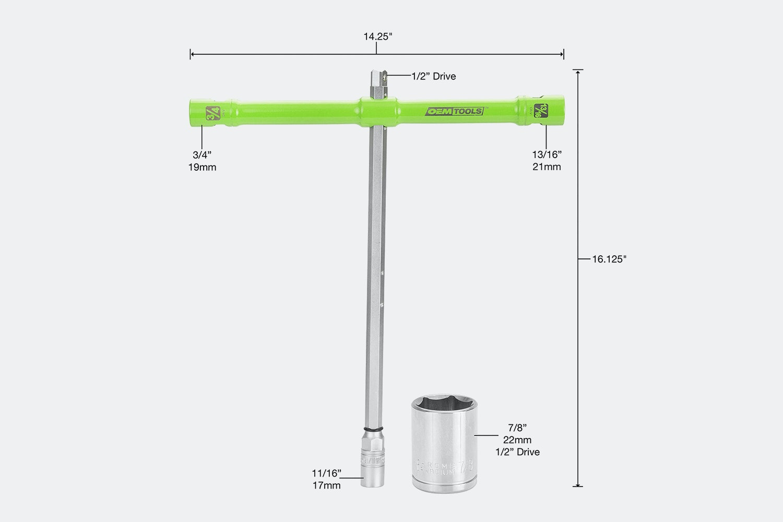 OEM Tools 26-Inch Power Cross Lug Nut Wrench