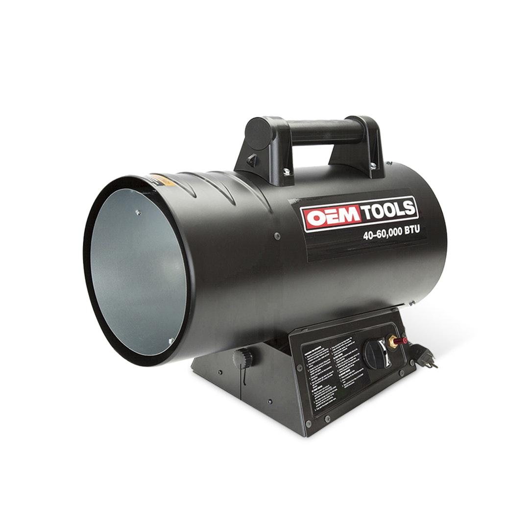 OEM Tools 40–60k BTU Liquid Propane Heater