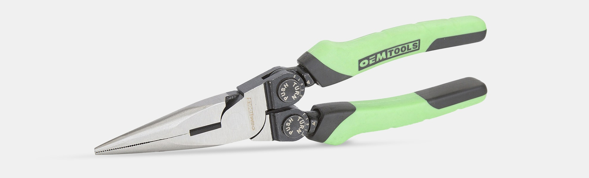 OEM Tools Adjustable-Angle Long Nose Pliers