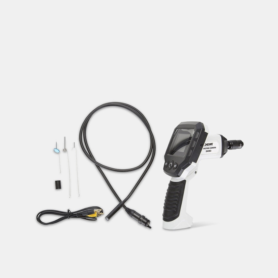 OEM Tools Borescope w/ 2.4-Inch Color LCD Screen